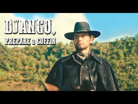 Django, Prepare A Coffin | WESTERN | Free Action Movie Starring Terence Hill | Full Cowboy Film