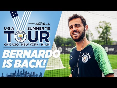 BERNARDO IS BACK! | CITY IN THE US | Training
