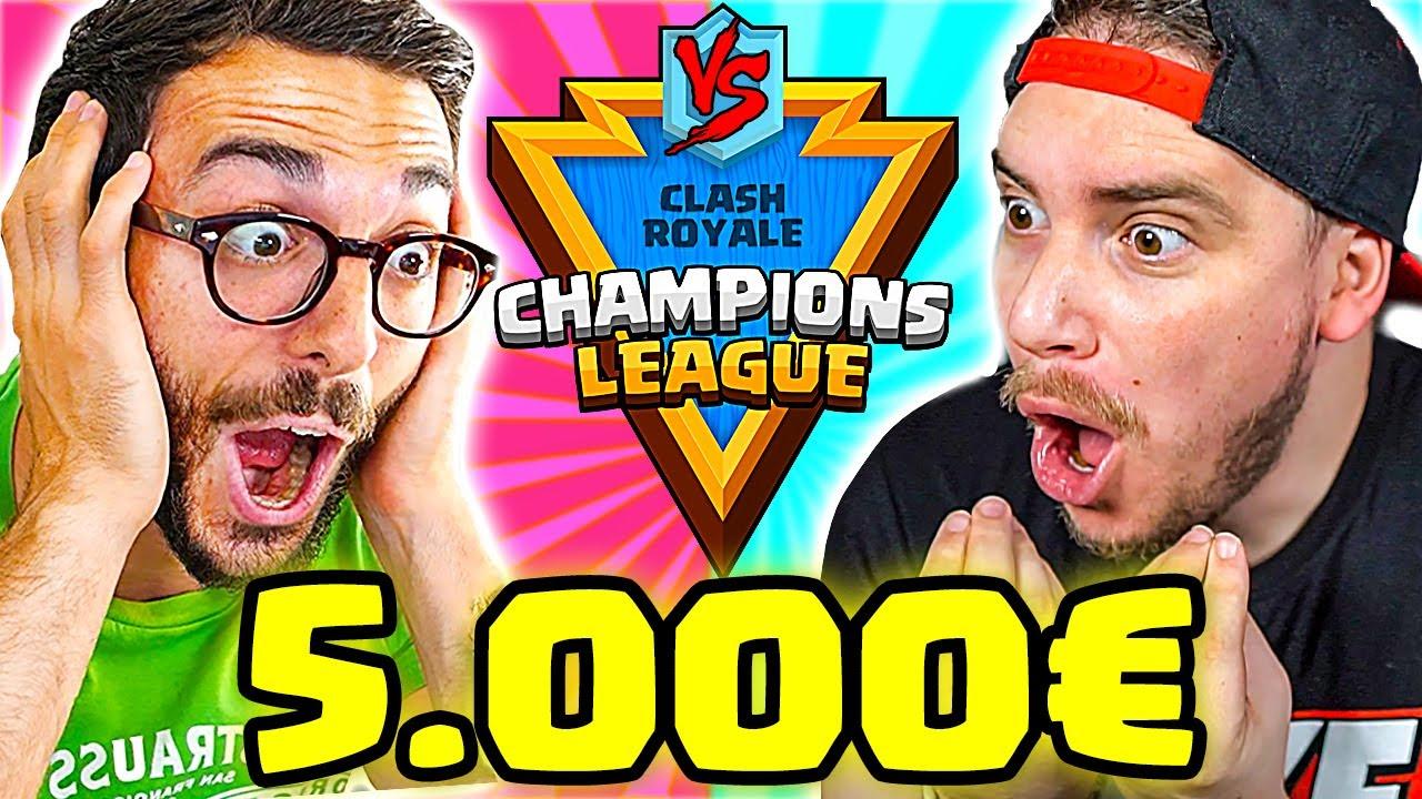 MIKE vs MURRY! - INIZIA IL TORNEO da 5.000€!! CLASH ROYALE CHAMPIONS LEAGUE