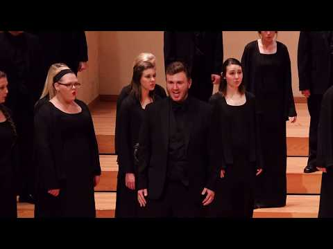 MSU Chorale: My God Is A Rock  Alice Parker and Robert Shaw