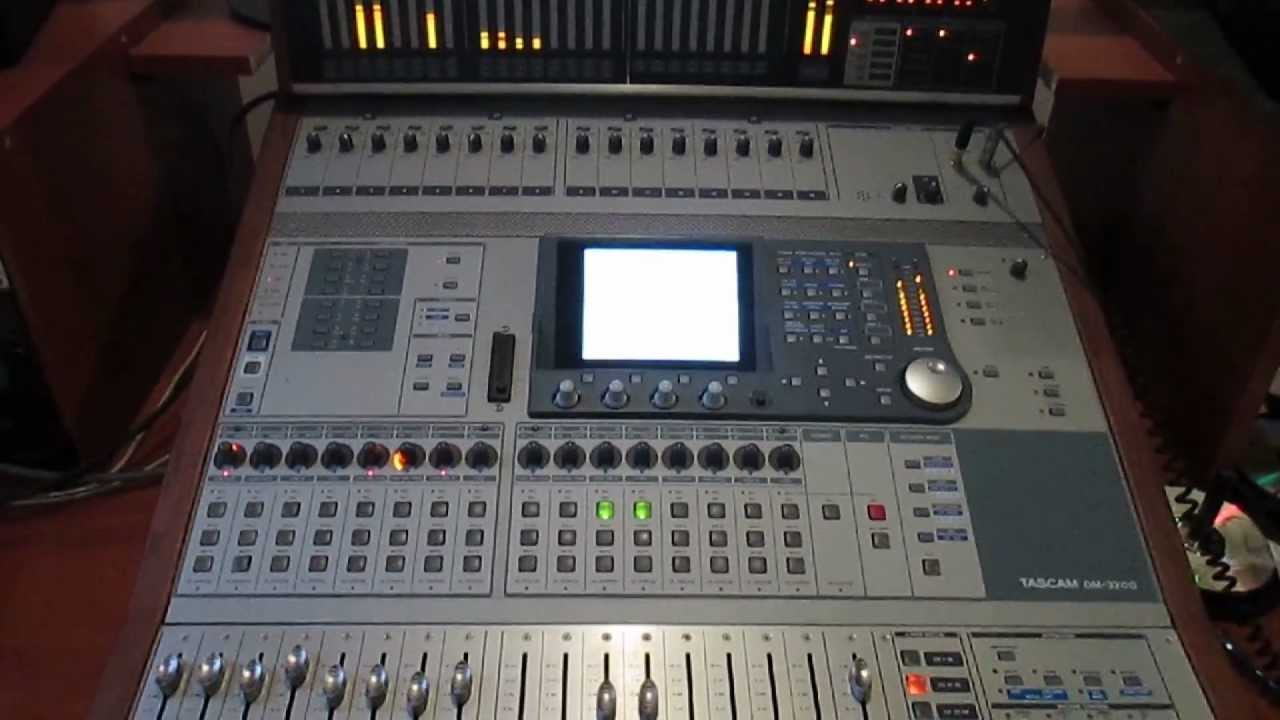TASCAM DM 3200 DRIVERS DOWNLOAD FREE