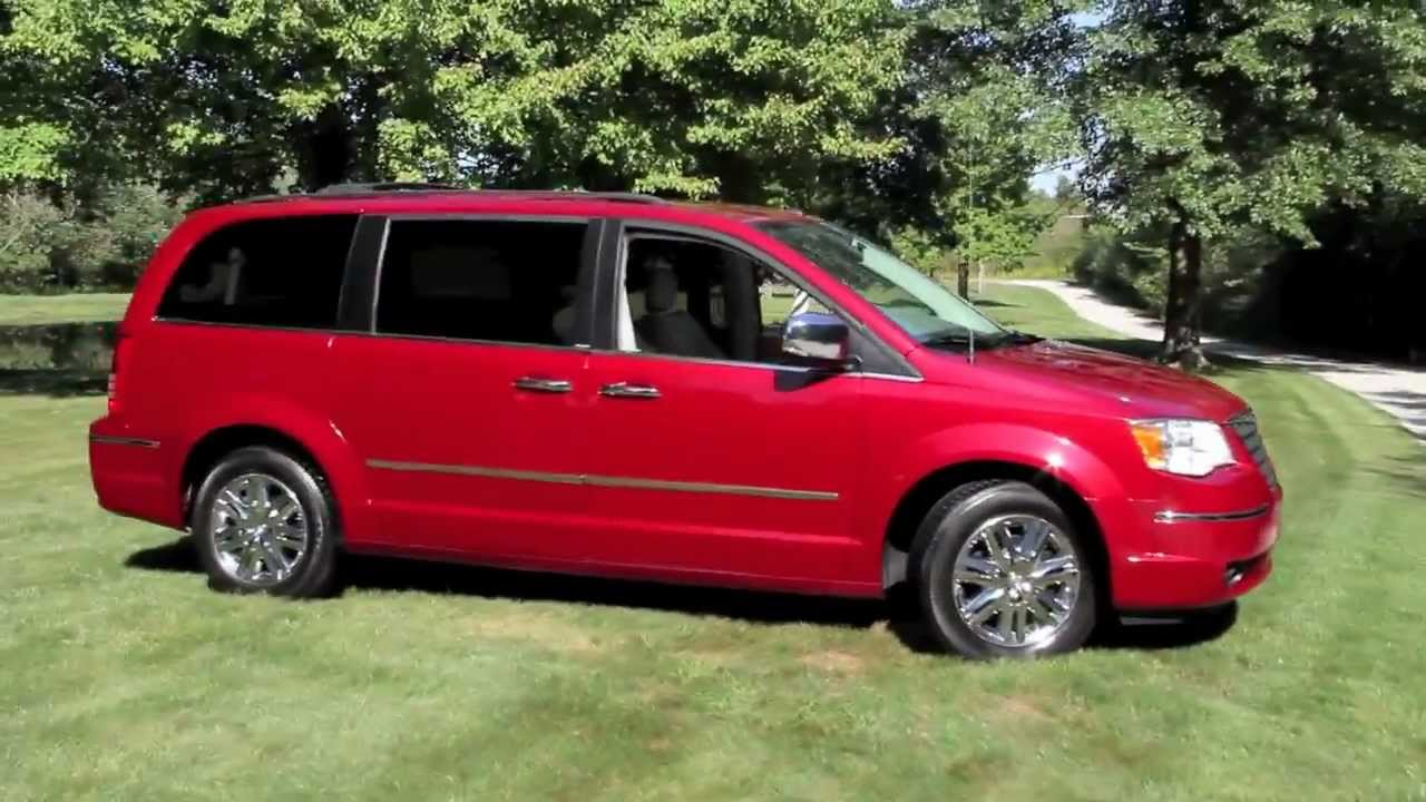 2008 chrysler town country limited youtube. Black Bedroom Furniture Sets. Home Design Ideas