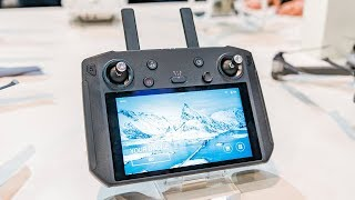 DJI Smart Controller Hands On First Impressions - CES 2019
