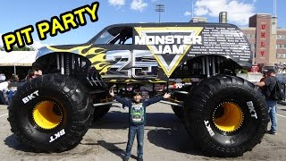 2017 Monster Jam World Finals XVIII Awesome Pit Party