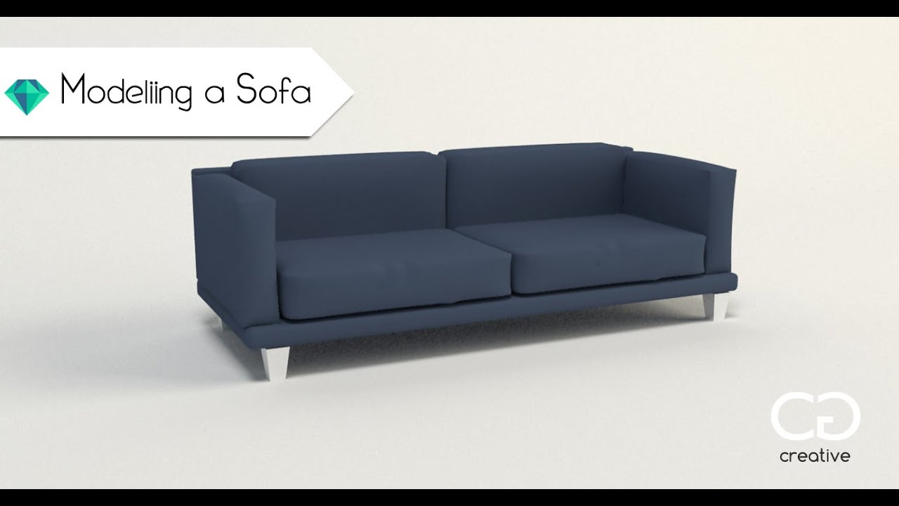 Creating A Sofa 3ds Max Tutorial For Beginners YouTube