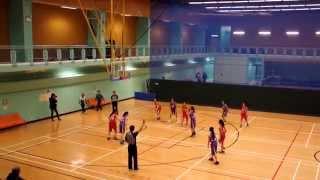 2015 九龍東區小學分會籃球比賽(女子組) 決賽 奉基千禧