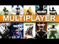 Top 10 Call of Duty MULTIPLAYER EXPERIENCES from WORST to BEST | Chaos