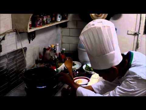 John Paul Rivano - Saute clam global leaves with rice pilaf and chili garlic sauce