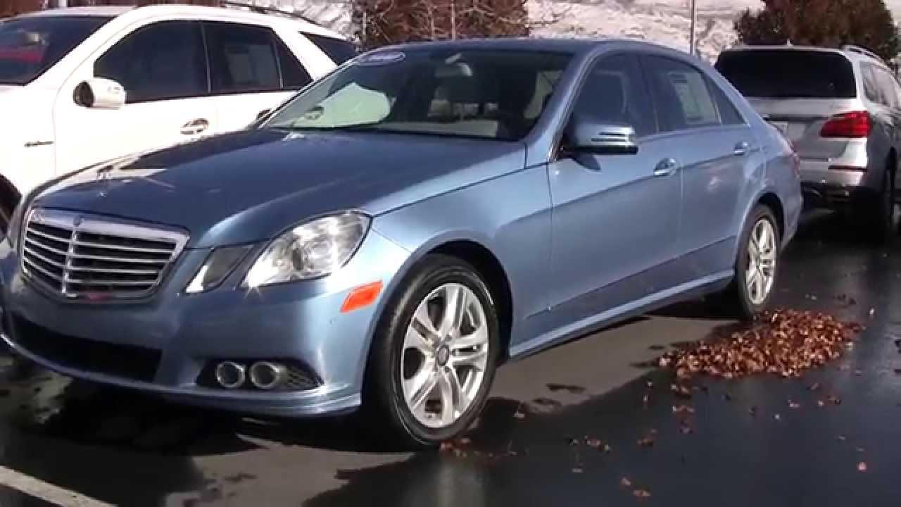 Mercedes benz 2010 e350 4 matic blue aa165803 youtube for 2010 mercedes benz e350