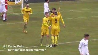 22. Spieltag: 1. FC Bocholt - SV Hönnepel-Niedermörmter 0:1 (0:1)