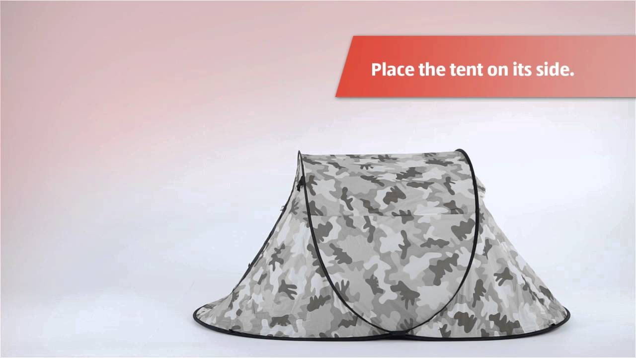Festival Pop Up Tent & Festival Pop Up Tent - YouTube