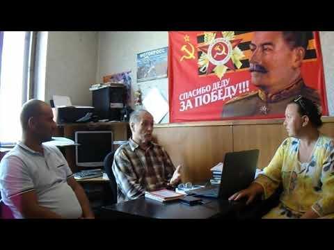 Жители Юрьев-Польского района у председателя Исполнительной Комиссии Владимирской области