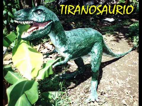 Dinosaurios De Papel Maché O Papel Armado Youtube