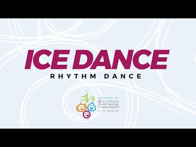 LIVE 🔴 | Ice Dance Rhythm Dance | ISU European Figure Skating Championships | #EuroFigure