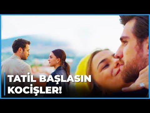 Kızlar Kocişleriyle Balayı Keyfi Yapıyor | Zalim İstanbul 22. Bölüm