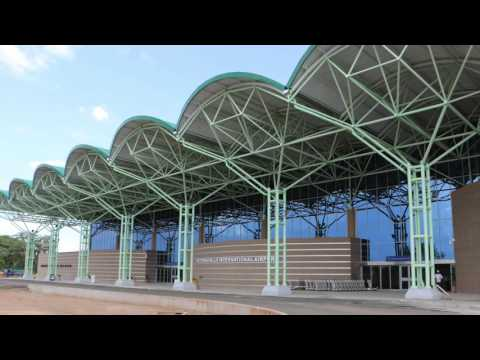 Victoria Falls International Airport is now open!