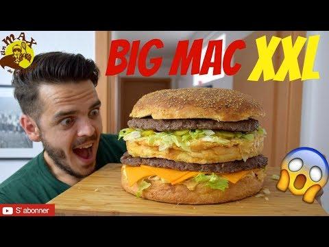 big-mac-xxl-😱😱😱-plus-gros-big-mac-du-monde!-😱😱😱-pour-12-personnes!!!