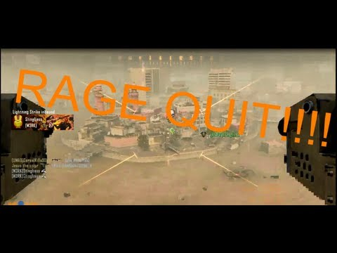 Black Ops 2 RAGE QUIT - Host lag switch LOL!