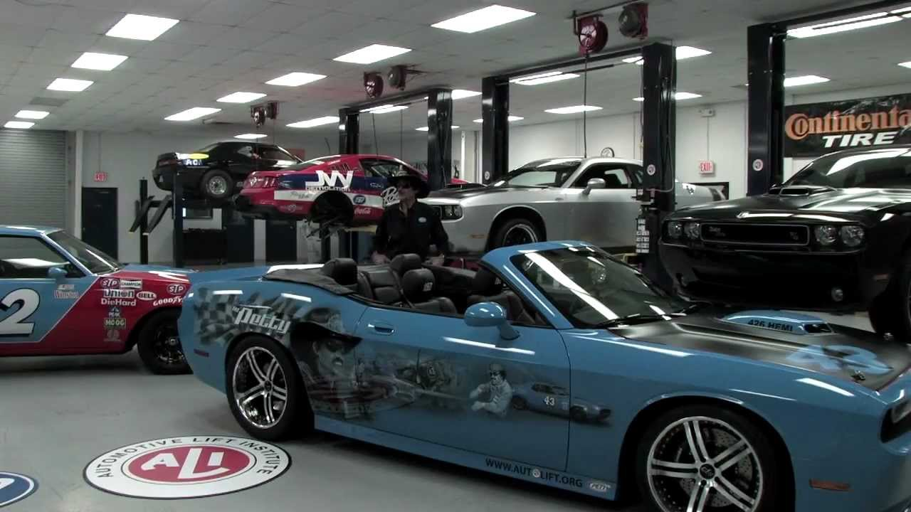 automotive lift institute and the petty u0027s garage national