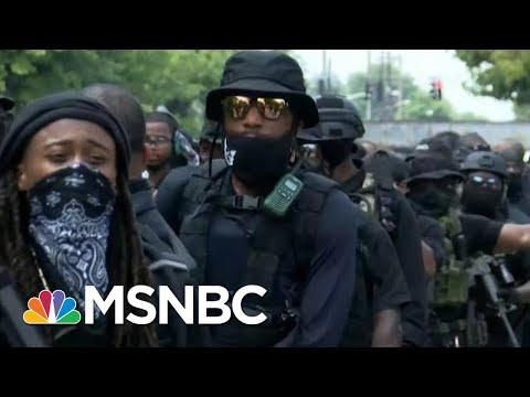 Inside An All-Black Militia Group | Morning Joe | MSNBC