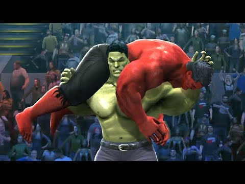 Thumbnail: HULK VS RED HULK - Hell In A Cell Match - EPIC Battle - WWE 2K14