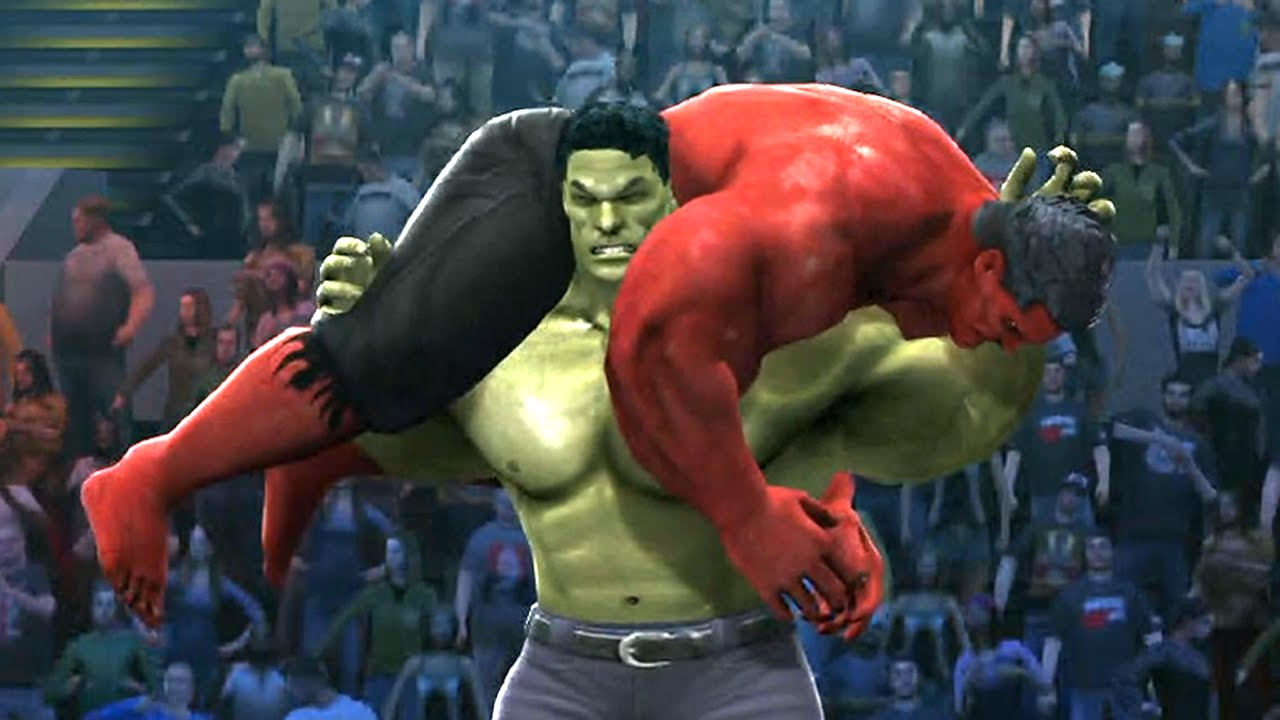 dfa60d1b3293f HULK VS RED HULK - Hell In A Cell Match - EPIC Battle - WWE 2K14 - YouTube
