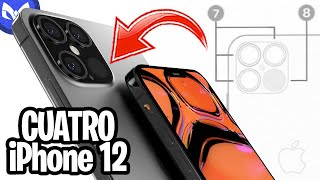 FILTRA iPhone 12 CONFIRMA - 4 iPhone 12???