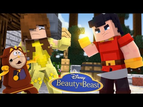 BEAUTY AND THE BEAST | SAVING BELLE FROM GASTON w/Little Carly (Custom Roleplay)