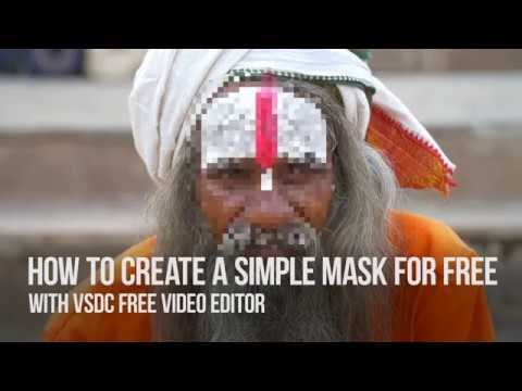 Lifehack: create a simple mask for FREE with VSDC Free Video Editor