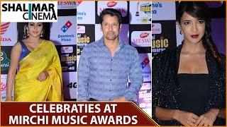 celebrities at mirchi music awards south 2016    shalimarcinema