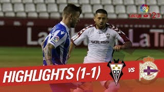 Resumen de Albacete BP vs RC Deportivo (1-1)