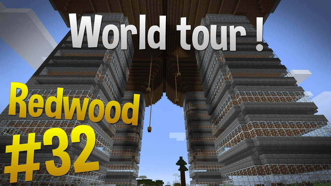 minecraft how to make redwood facade