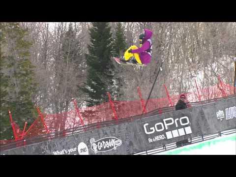 Xuetong Cai - Run 2 - Women's Snowboard Superpipe Finals