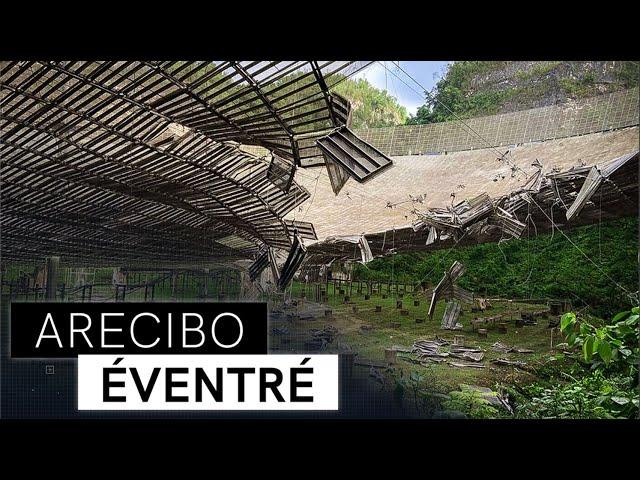 Accident à l'Observatoire d'Arecibo | La Minute Spatiale E05