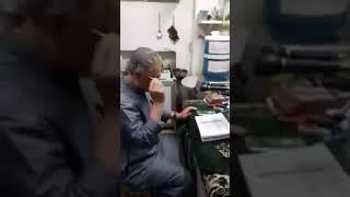 مصطفى سرميني..تسميع وآذان رمضان 2019 جامع البراء بحلب