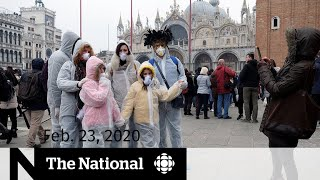 WATCH LIVE: The National for Sunday, Feb. 23 — Coronavirus cases spike outside China