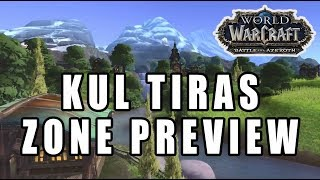 Kul Tiras Zone Preview - Battle For Azeroth Music
