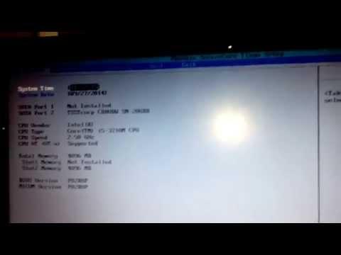 Samsung Notebook(Laptop) Phoenix Bios HDD Sorunu Acil Yardım Lütfen...!!!!