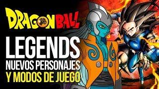 DRAGON BALL Legends: NUEVOS personajes, datos y MODOS | MERISTATION