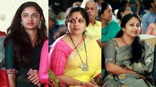 സാരിയിൽ തിളങ്ങി മീനാക്ഷിയും ആനിയും ചിപ്പിയും | Meenakshi Dileep | Annie | Chippy