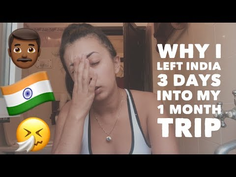 Why I left India... Did I feel safe as a solo female traveler?