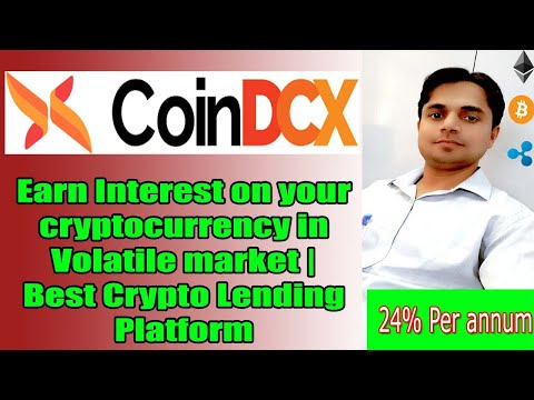 Earn Interest On Your Cryptocurrency In Volatile Market   Best Crypto Lending Platform