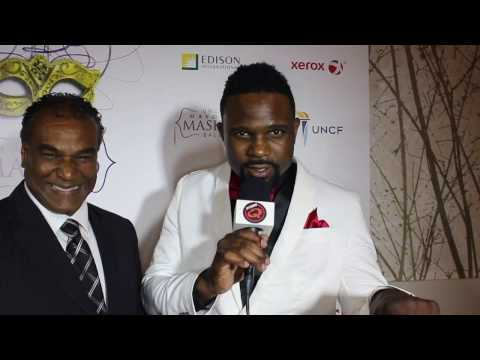 Darius McCrary Talks Star and Miki Howard Movie at UNCF Mayor's Masked Ball