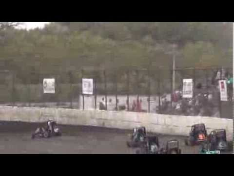 Osage Caney Valley Speedway Micro Heat Race 10/26/2013