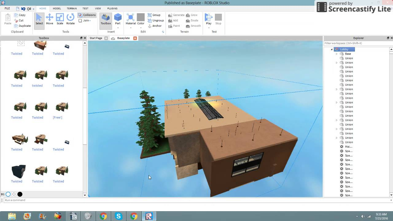 How To Copy A Model Off Of Roblox Youtube