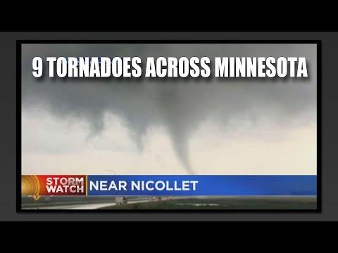 9 Tornadoes Across Minnesota