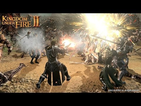 Kingdom Under Fire 2 Online English Client Co-op Demo Gameplay UHD
