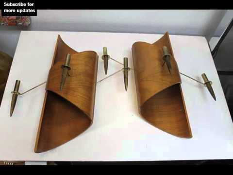 Mid Century Modern Wall Sconces   Wall Sconces - YouTube on Mid Century Modern Sconces id=86152
