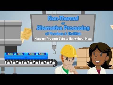 Non Thermal or Alternative Processing of Produce and Shellfish: Safe to Eat Without Heat