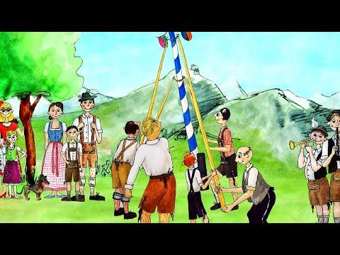 Maibaum Lied - Sternschnuppe Kinderlieder - CD Bayerische Kinderlieder